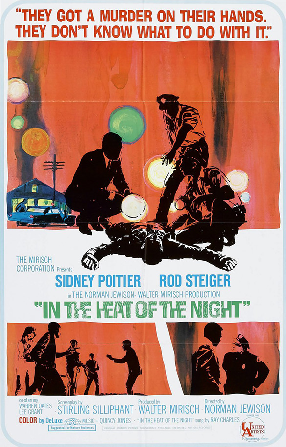 In The Heat Of The Night movie poster